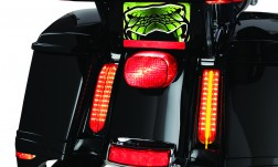 CIRO FILLER PANEL LIGHTS FOR '14-UP ULTRAS AND ROAD KINGS