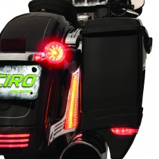 CIRO FILLER PANEL LIGHTS FOR STREET GLIDE/ROAD GLIDE '14-UP