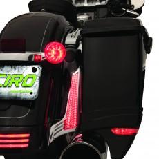 CIRO FILLER PANEL LIGHTS FOR STREET GLIDE/ROAD GLIDE '10-'13