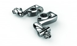 CIRO HINGELESS CLAMPS WITH CLEVIS, PEG MOUNTS & EXTENSION ARM