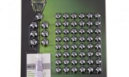 CIRO ENGINE COMPLETE DIAMOND CUT CROWN BOLT CAP SET